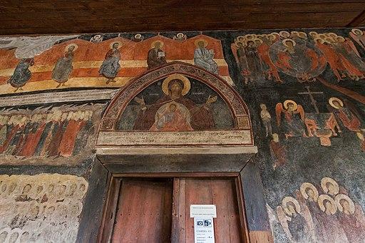 Несебыр Интерьер церкви Св Стефана Западная пристройка Вход