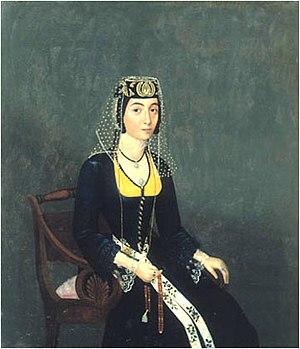 Hovnatanian - Image: Овнатанян. Портрет Середина 19 в. Тбилиси, Музей искусств