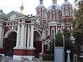 Ограда с воротами Храма сщмч. Климента, папы Римского 02.JPG