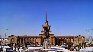 Yerevan railway station - Image: Սասունցի Դավիթ24