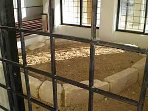 'Abd al-Rahman ibn 'Awf - The grave from inside
