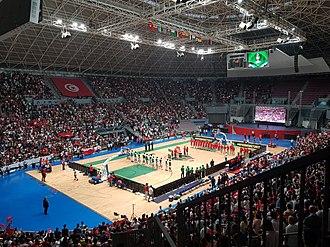 Salle Omnisport de Radès - Final game in AfroBasket 2017 between Tunisia and Nigeria