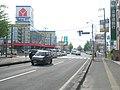 北海道道100号函館上磯線・北海道道347号赤川函館線交点(終点側から).jpg
