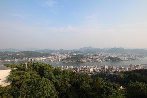 千光寺展望台からの光景
