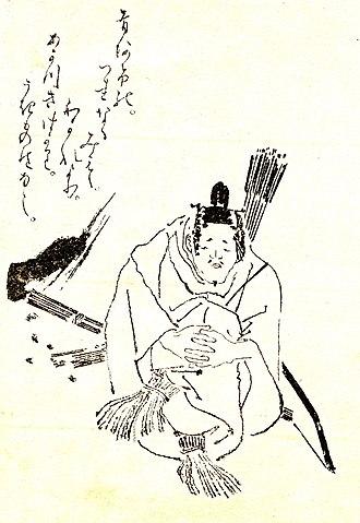 Mibu no Tadamine - Mibu no Tadamine by Kikuchi Yosai