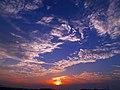 大山町の夕日2 - panoramio.jpg