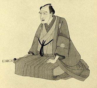 Santō Kyōden - Depiction of Santō Kyōden