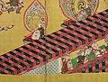 舞楽図屏風 ・唐獅子図屏風-Bugaku Dances (front); Chinese Lions (reverse) MET DP141395.jpg