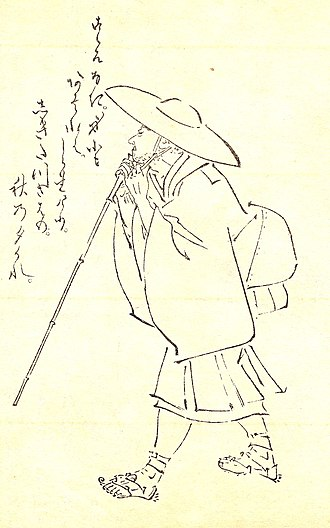 Saigyō - Saigyō by Kikuchi Yōsai