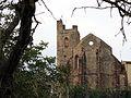 002 L'església vella de Mont-roig del Camp, des del barranc de l'Horta.jpg