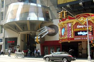 Times Square - Madame Tussauds Wax Museum and Ripley's Believe It or Not! Odditorium are two of the newer attractions on the redeveloped 42nd Street.
