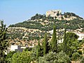 05 Ajloun Castle Trail - The Castle Seen from Ajloun City Center - panoramio.jpg
