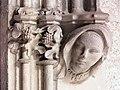 060 Generalitat, galeria gòtica, portal de l'Arxiu de Comptes.JPG