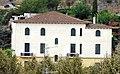 069 Hotel Estrac (Caldes d'Estrac), des del parc de Can Muntanyà.JPG