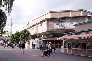 Lisebergshallen - Image: 090712 Lisebergshallen