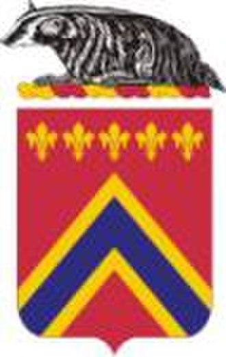 1st Battalion, 120th Field Artillery Regiment - Coat of arms