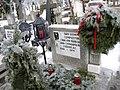 1. Bucuresti, Romania. Cimitirul Bellu Catolic. Mormantul compozitorului Dan Iagnov. 28 Ianuarie 2019 (detaliu).jpg