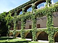 109 Monestir de Sant Benet de Bages, arcades de la galeria de Montserrat.jpg