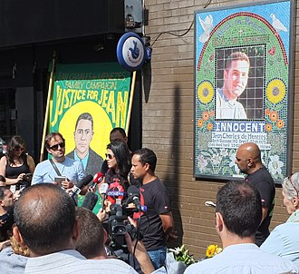 Death of Jean Charles de Menezes - The Campaign commemorates the 10th anniversary of the shooting