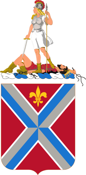 116th Infantry Regiment (United States) - Coat of arms