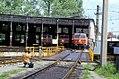 118R33250584 Bahnhof Salzburg, Ringlokschuppen, Drehscheibe, Lok 1044.31.jpg