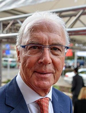 Franz Beckenbauer - Beckenbauer in 2014