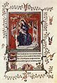 14th-century painters - Page from the Très Belles Heures de Notre Dame de Jean de Berry - WGA16017.jpg