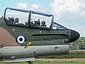 156774 TA-7C Corsair 335mv AF Greece cockpit Kleine Brogel 2007 P1020345 (50852064413).jpg