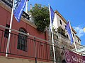 170 Hotel Estrac (Caldes d'Estrac), des de la Riera.JPG
