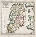 1748 Vaugondy Map of Ireland - Geographicus - Ireland-vaugondy-1749.jpg