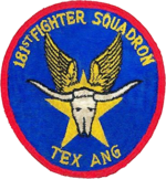 181st Fighter-Interceptor Squadron - Emblem