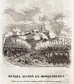1845, Historia de Cabrera y de la guerra civil en Aragón, Valencia y Murcia, Reñida acción en Mosqueruela.jpg