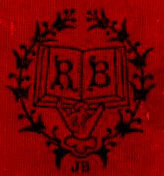 Roberts Brothers (publishers) - Emblem of Roberts Bros., publishers, 1869