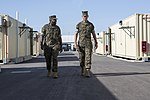 18th Sergeant Major of the Marine Corps, Ronald L. Green visits SPMAGTF-CR-AF Marines & sailors 160602-M-QM580-073.jpg