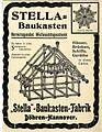 1901 circa Werbung Stella Baukasten-Fabrik Döhren Hannover.JPG