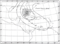1909 Florida Keys hurricane weather map.png
