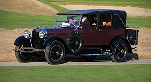 Lincoln Motor Company - 1926 Lincoln L-series town car