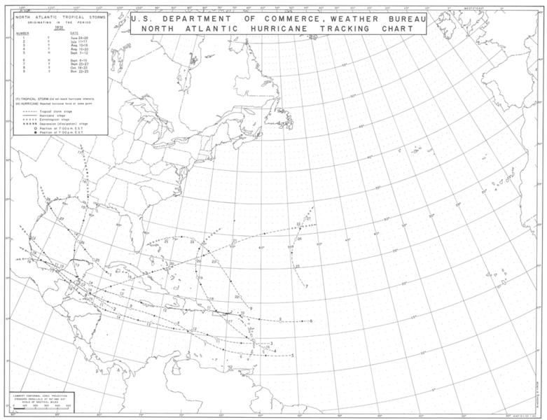 File:1931 Atlantic hurricane season map.png