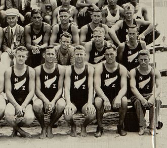 New Zealand at the 1932 Summer Olympics - 1932 Summer Olympics New Zealand rowers
