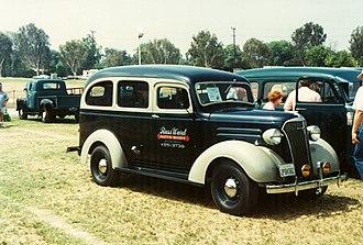 Chevrolet Suburban - 1937 Chevrolet Carryall Suburban