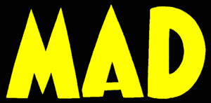 Harvey Kurtzman's editorship of Mad - Logo of Mad before it became a magazine