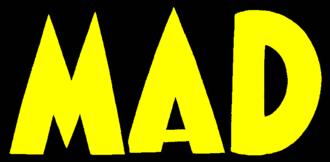 Harvey Kurtzman's editorship of Mad - Logo of Mad before it became a magazine