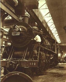 China Railways SL3 4-6-2 steam locomotive