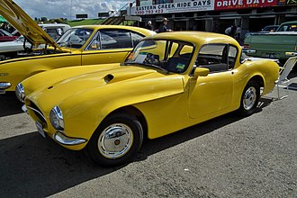 Buckle Sports Coupe - Image: 1956 Buckle GT coupe (6102421761)