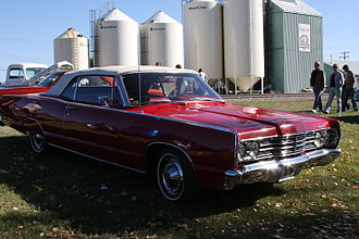 Mercury (automobile) - 1967 Meteor Montcalm convertible