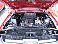 1967 red Ford Mustang coupe engine 1.JPG