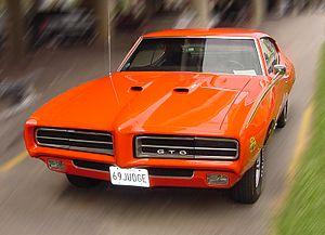 History of General Motors - A classic General Motors muscle car, the 1969 Pontiac GTO