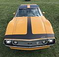 1971 AMC Javelin AMX 401 in Mustard Yellow at 2015 AMO show 7of7.jpg
