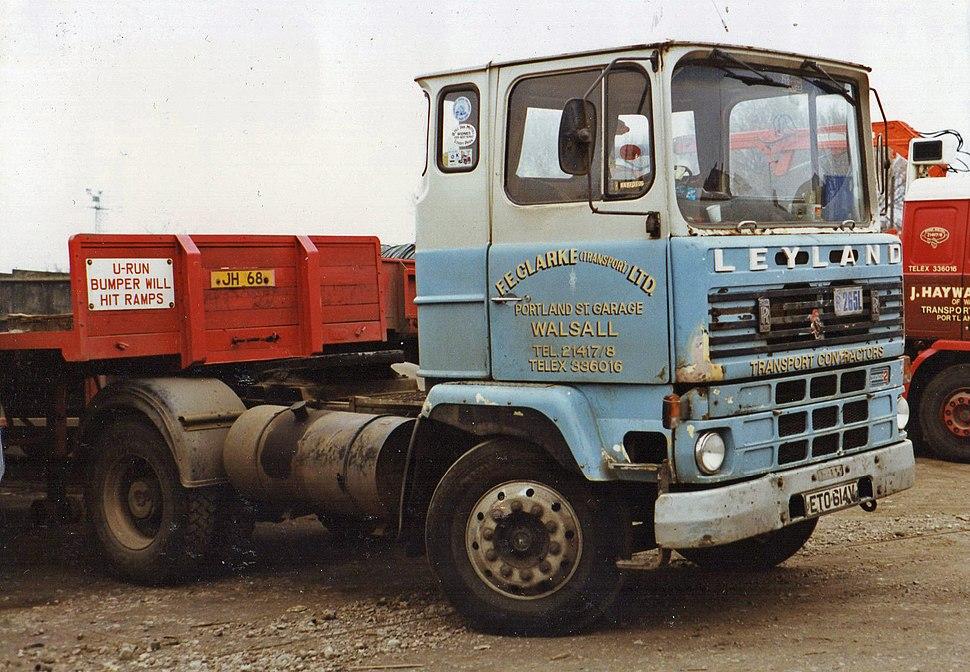 1979 Leyland Marathon 2, RR diesel