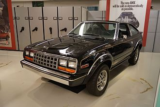 AMC Eagle - AMC Eagle SX/4 liftback